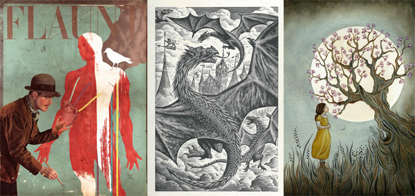 The AOI Illustration Awards shortlist announced!