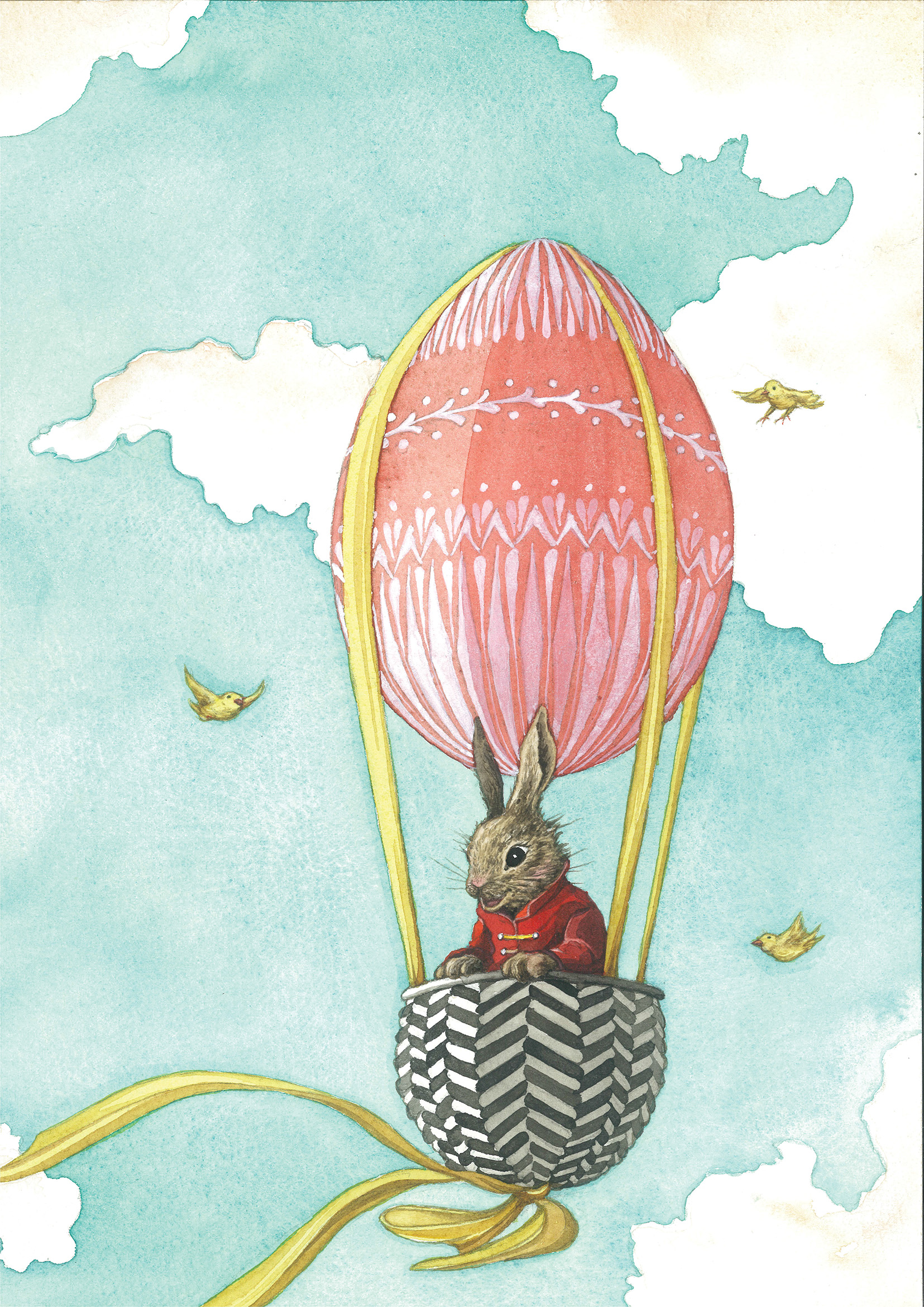 An enchanting Easter Illustration by Daniela Terrazzini for the ...