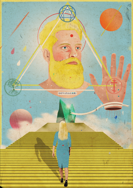 A collection of colourful new work by Laurindo Feliciano