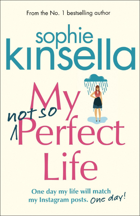 Lucy Davey's front cover illustration for Sophie Kinsella's book, published by Bantam Press