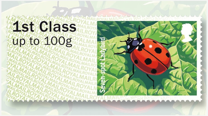 great-britain-seven-spot-ladybird-stamp