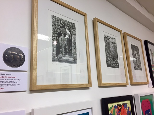 Congratulations to Andrew Davidson for winning the Silver award at the Society of Illustrators Awards
