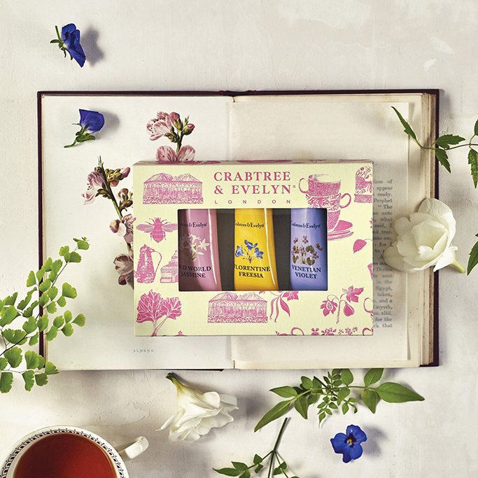 Josie Shenoy's sweet and summery packaging designs for Crabtree and Evelyn