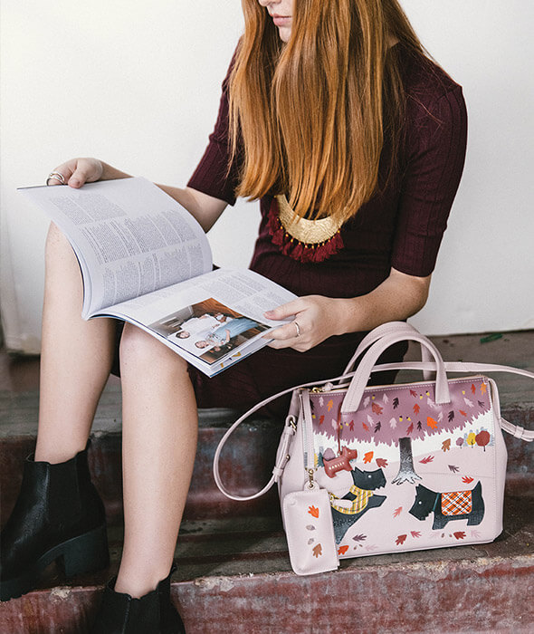 Rachael Saunder's beautiful new Autumn bag for Radley