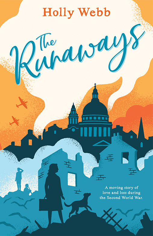 'The Runaways' Book Cover by Lucy Davey