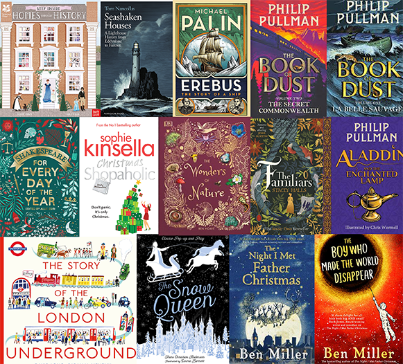The Artworks has 14 books featured on Waterstones 'Best of 2019' Book Guide
