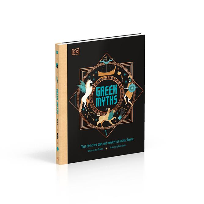 Katie Ponder reimagines Greek Myths for DK