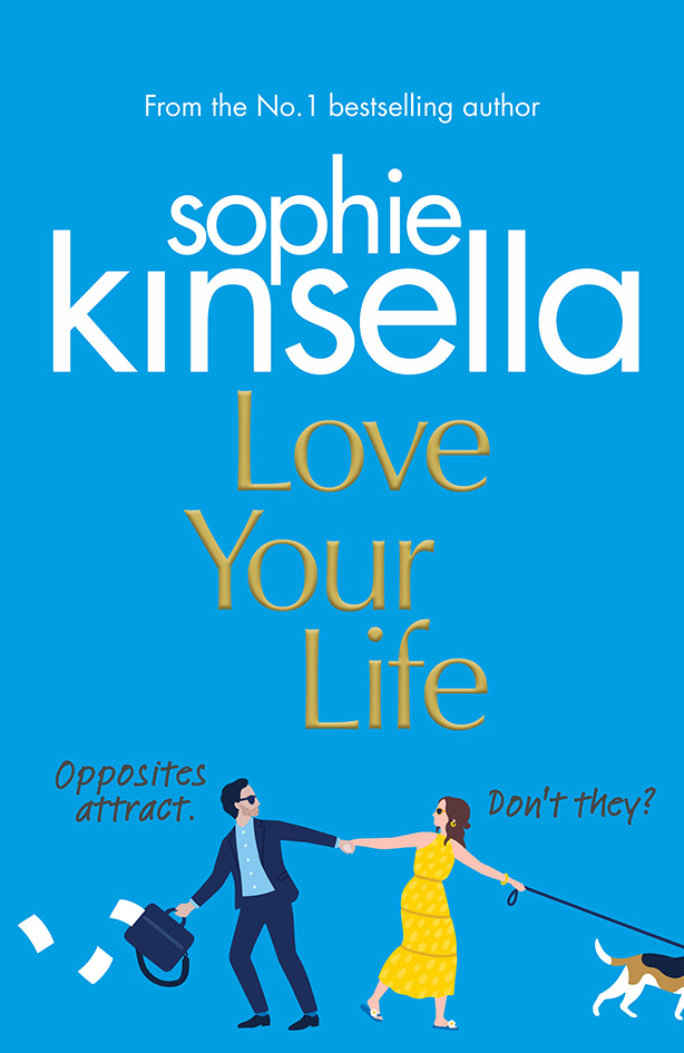 Lucy Davey illustrates her tenth cover for Sophie Kinsella!