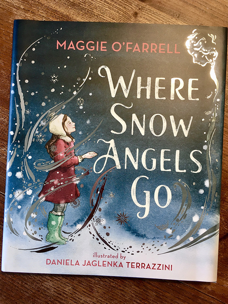 Daniela Terrazzini illustrates Where Snow Angels Go; Maggie O'Farrell's first children's book!