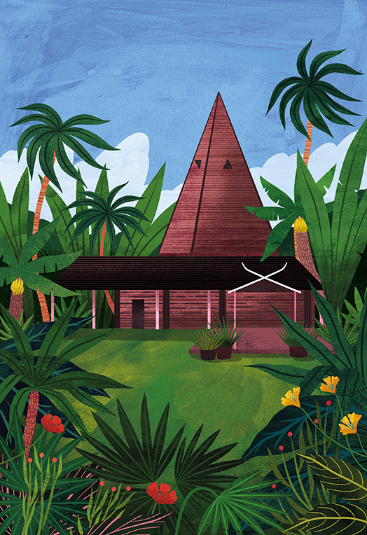 """Amy Grimes's illustrations continue to inspire travel ideas in the artistically inclined in """"Artistic Places""""!"""