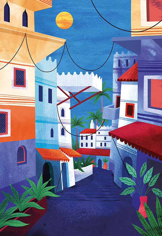 "Amy Grimes's illustrations continue to inspire travel ideas in the artistically inclined in ""Artistic Places""!"