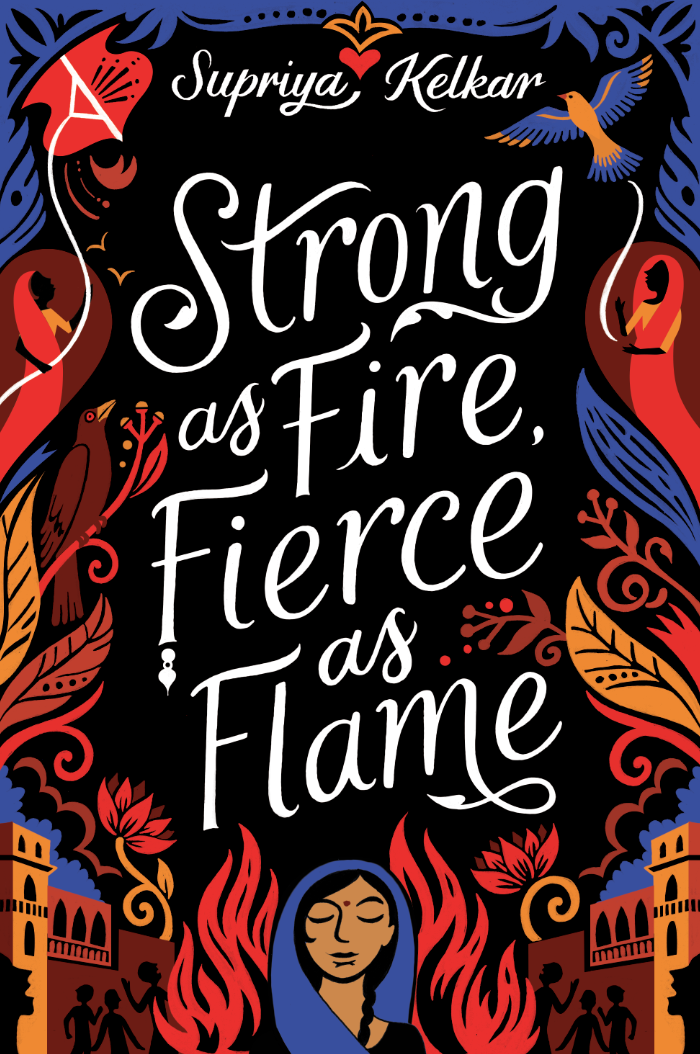 Kate Forrester's favourite illustration sees publication this week; Strong as Fire, Fierce as Flame.