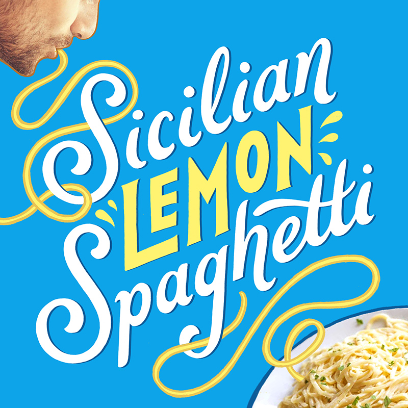 The Artcooks! Kate Forrester's super simple Sicilian Lemon Pasta!