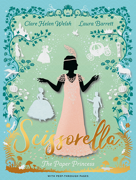 Cover Reveal! Laura Barrett's perfect homage to the fairytale life of cutout artist Lottie Reiniger.