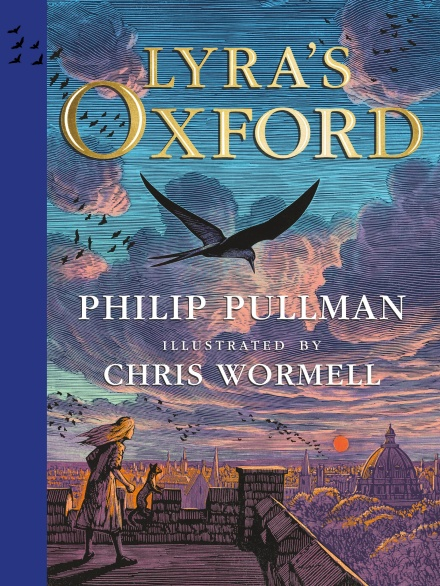 Take a look at Lyra's Oxford, illustrated by Chris Wormell in his latest collaboration with Phillip Pullman.